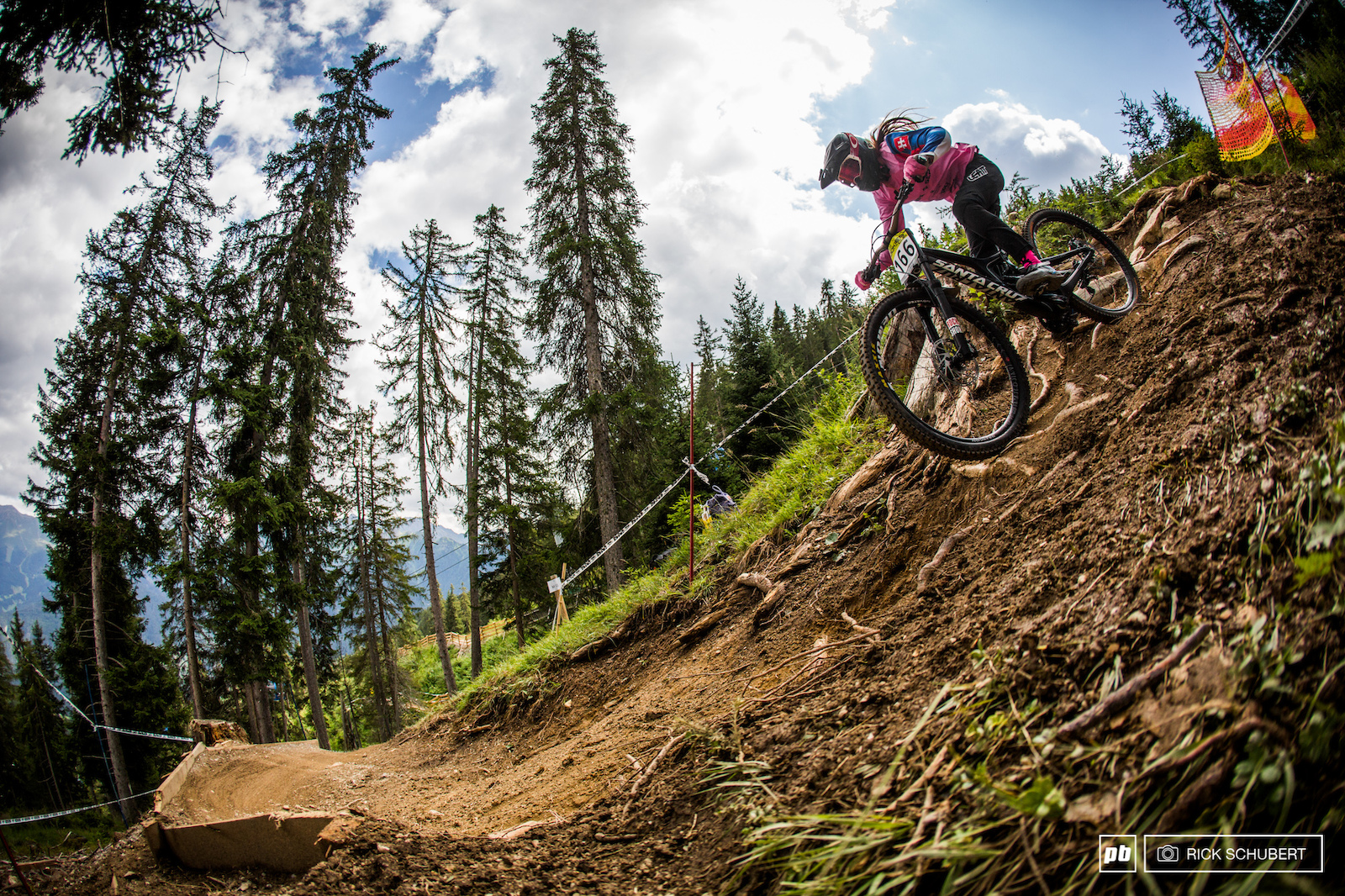 A new section to previous years made things exciting for the riders