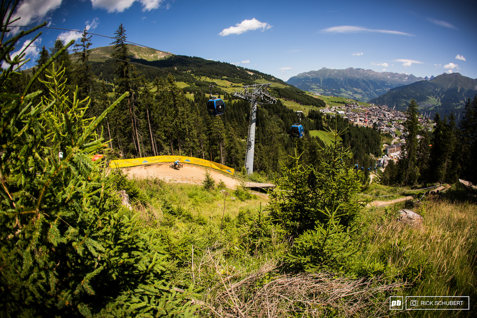 Serfaus Fiss Ladis has one of the best bikeparks in Austria and some sweet views as well