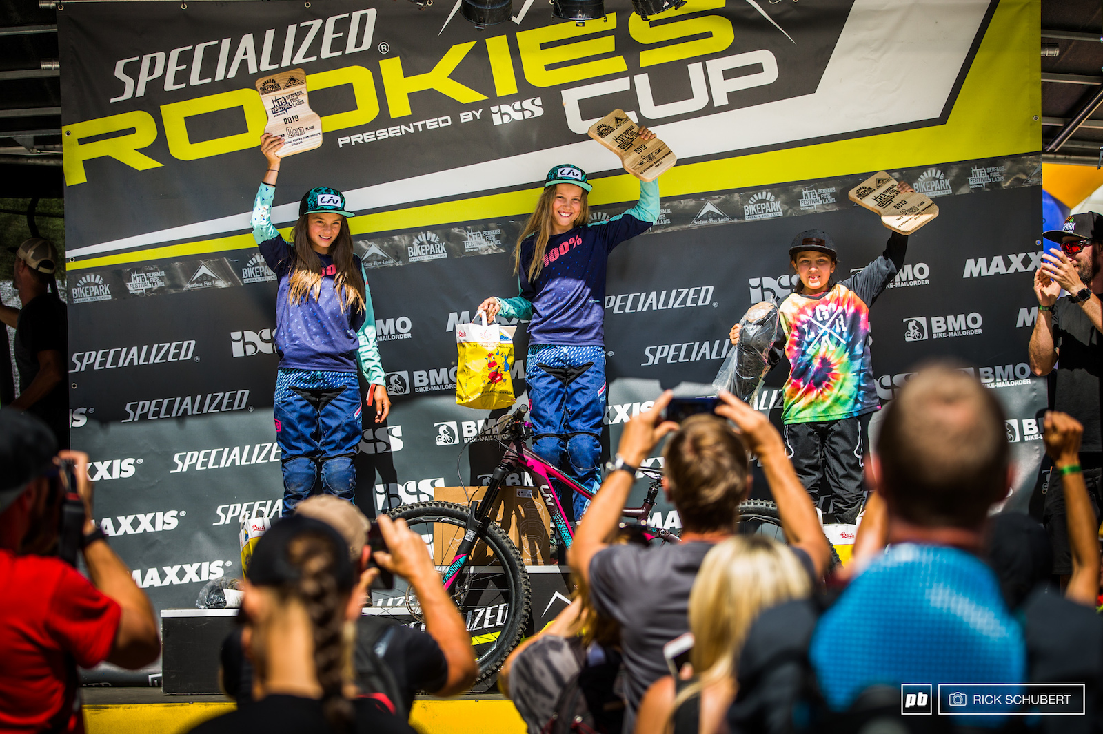 Podium Girls U13 with Anouk Reiner Rosa Zierl and Maxima Jaax