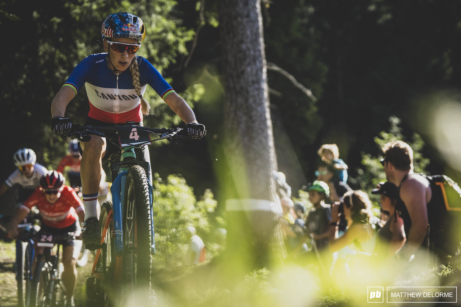Pauline Ferrand Prevot has been back on form and takes another win.