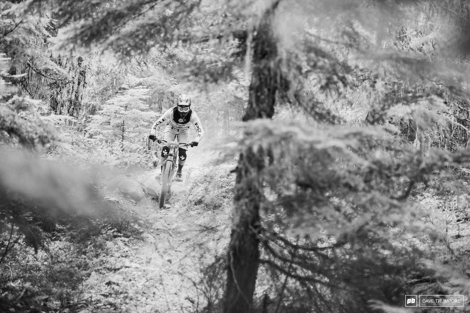 Stage s 2 and 3 are outside the bike park and feature the more natural terrain you d expect to find buried in the British Columbia woods