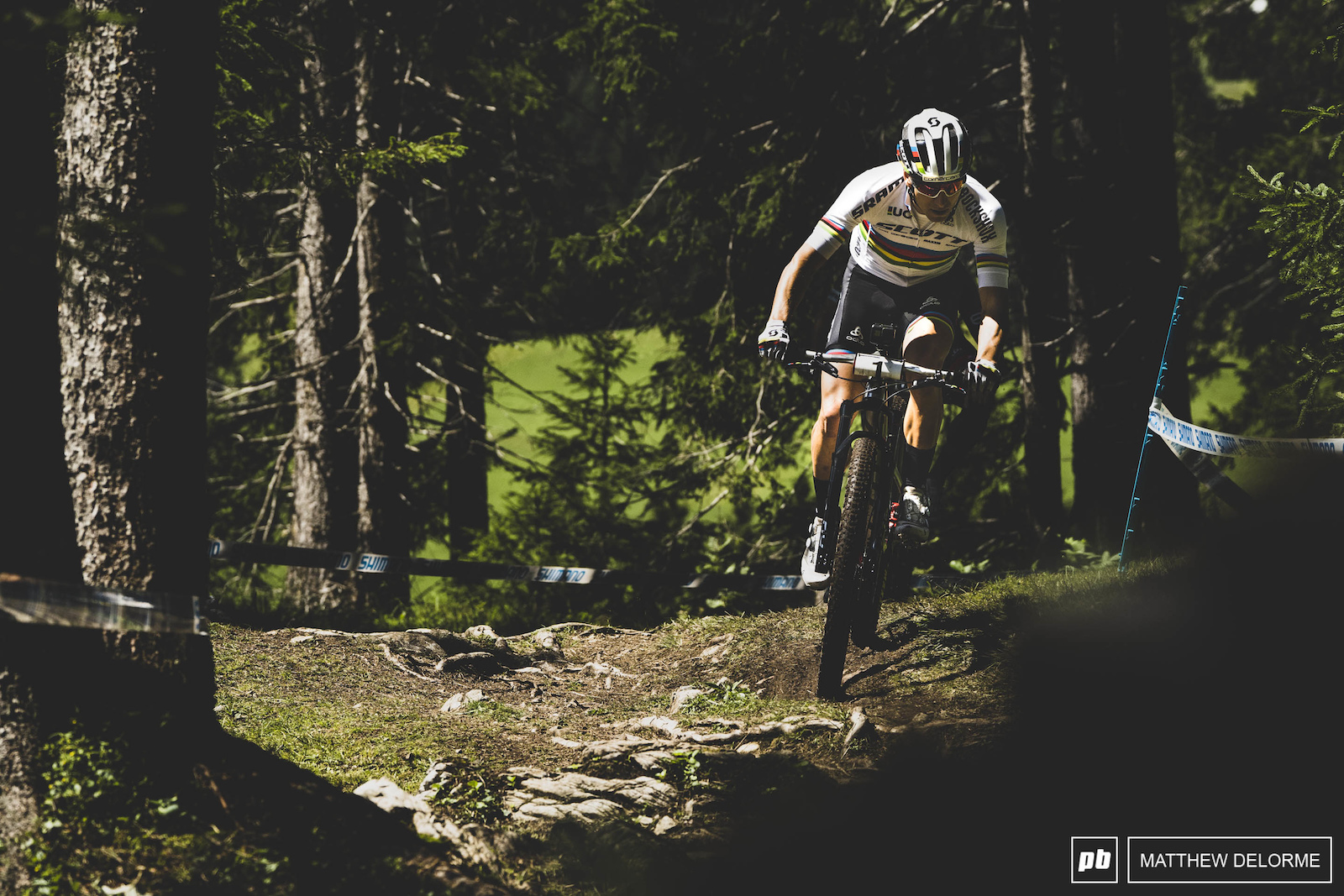 Nino took worlds here in Lenzerheide last year but he has had mixed results this year. will we see him take the win