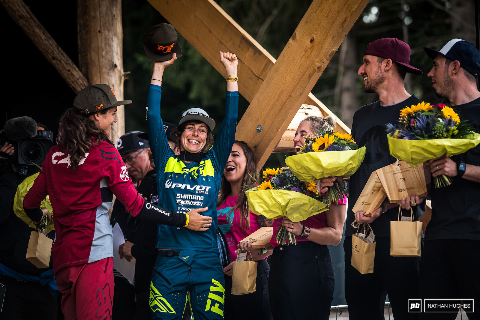 Siegenthaler stoked to make the top steps in Switzerland just a few tenths ahead of partner Balanche.