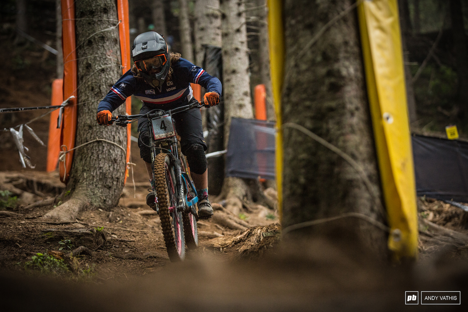 Nastasia Gimenez managed a second place finish yet still almost 30 seconds off from Vali Holl s time.