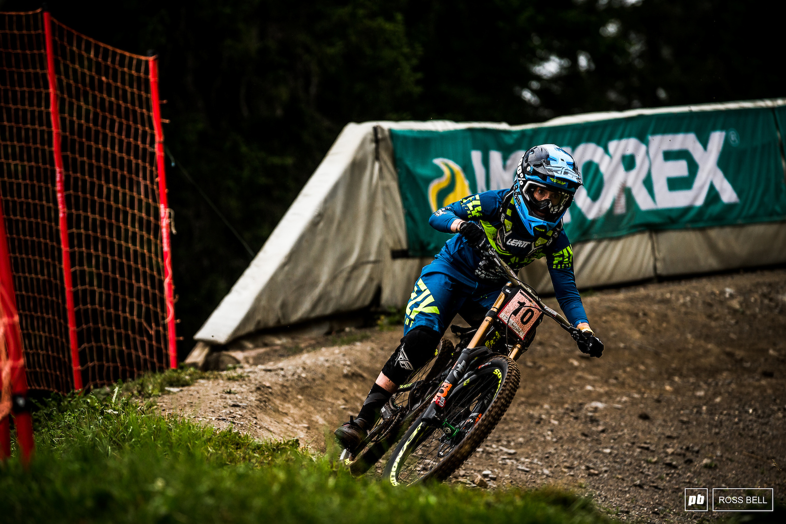 Emilie Siegenthaler did the business at home and took the third step on the podium.