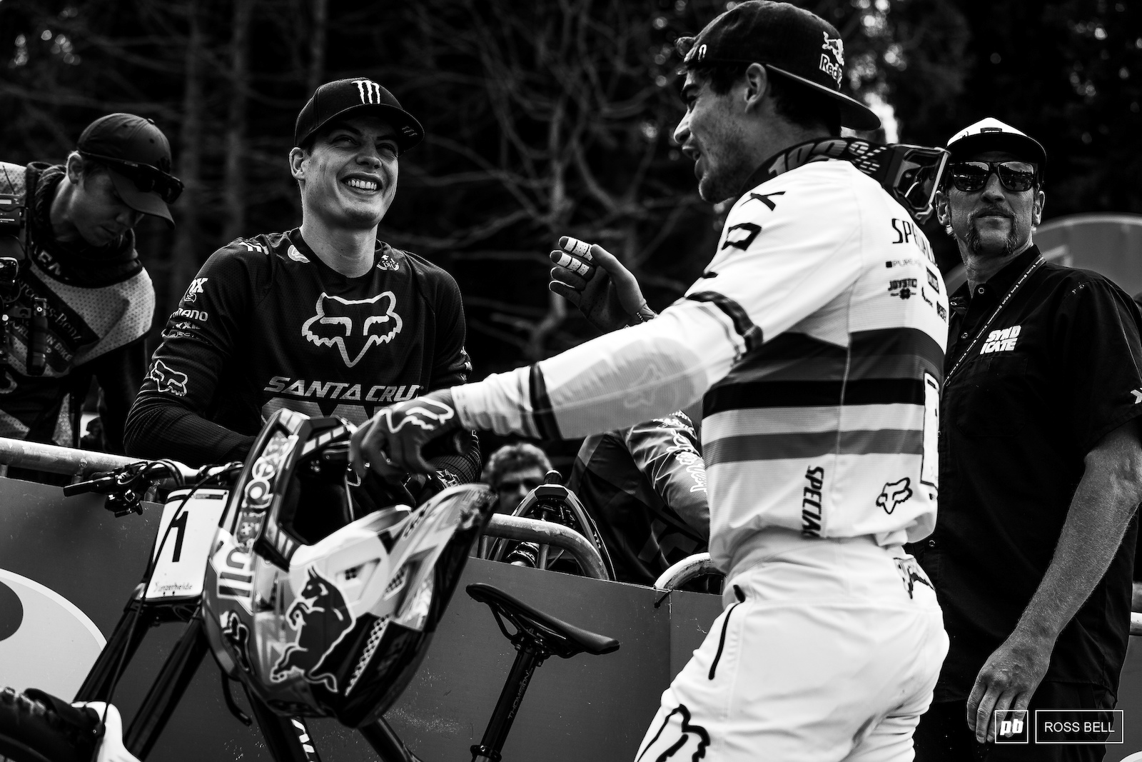 Loic Bruni and Loris Vergier share the stories from their race runs.