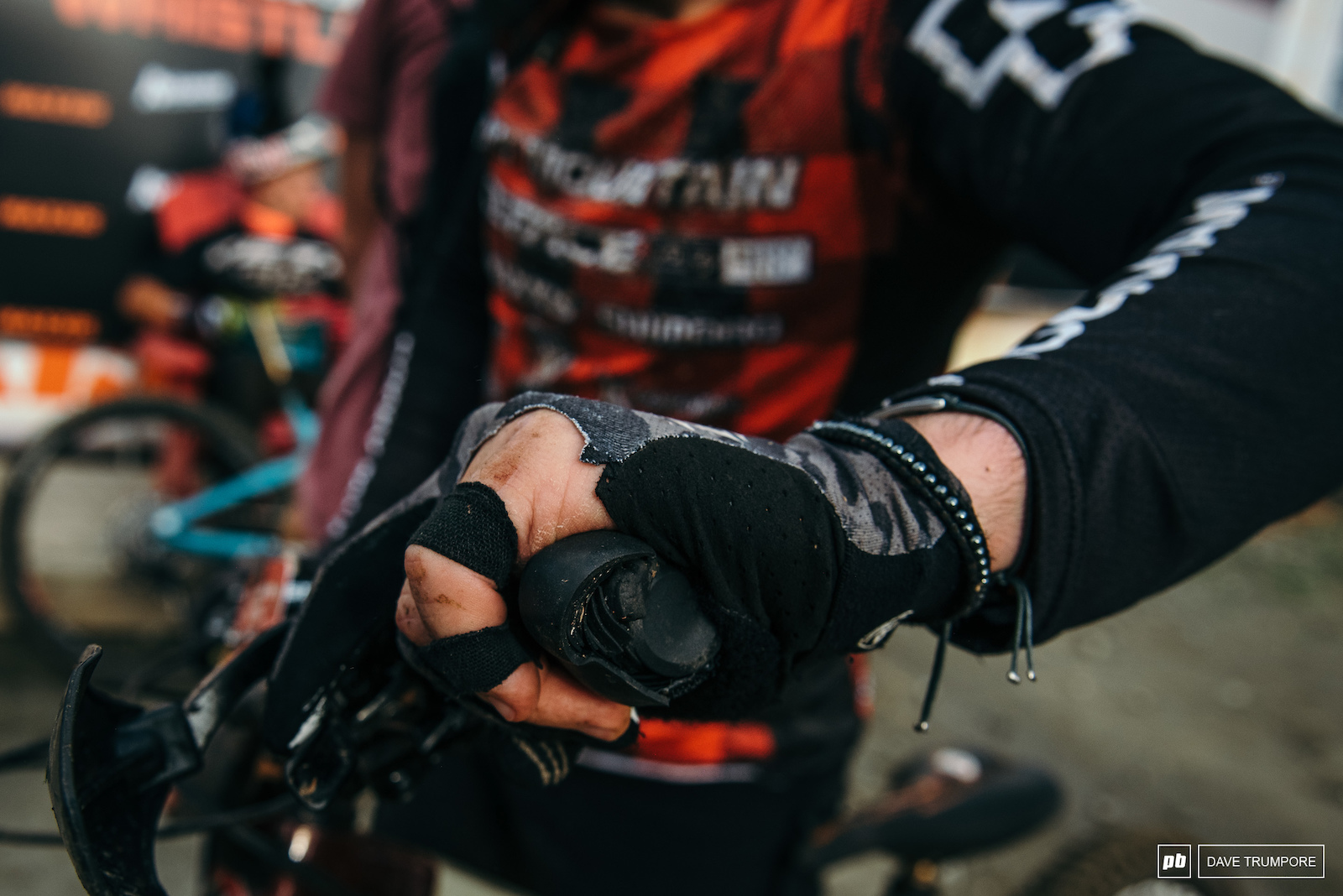 A busted hand and custom get for Jesse Melamed who would tough out the day and help Rocky Mountain take the team title