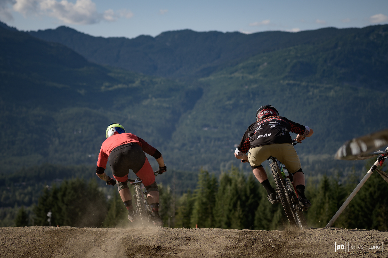 Dual Slalom is some of the fastest racing crankworx has to offer