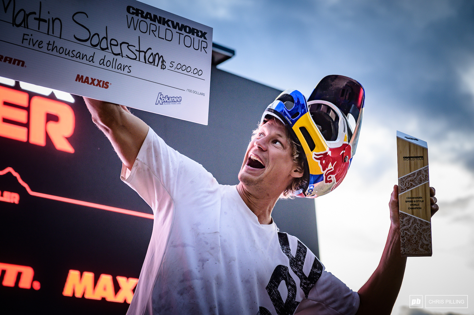 Martin Soderstrom takes the Speed and Style World Championship