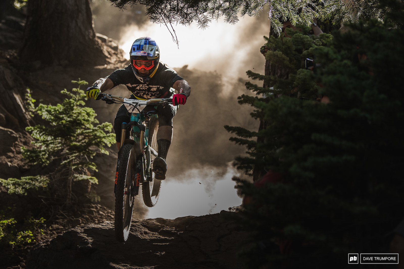 Richie Rude crushed everyone on stage 1 but Sam Hill returned the favor on stage 2.