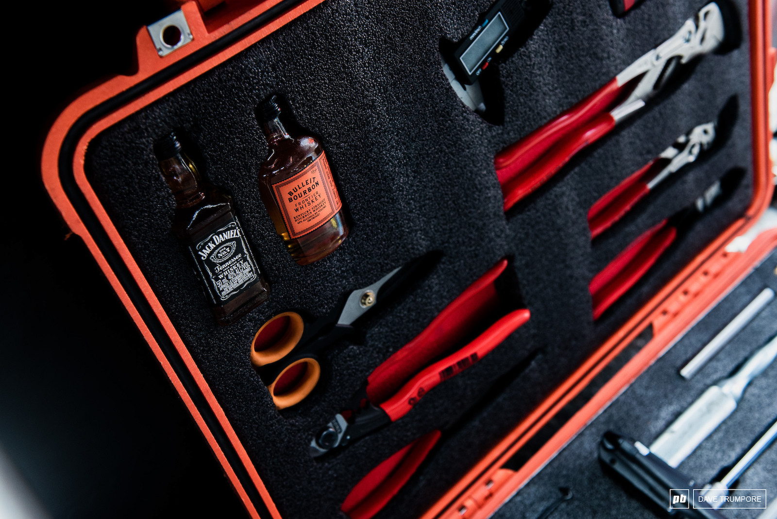 Only the essentials in World Champs tool kits
