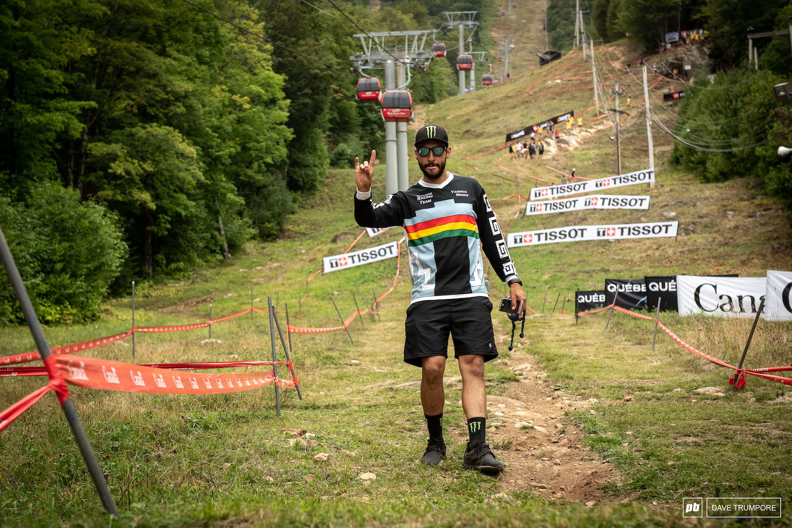 Yannick Wende s bike went missing last week for Master s Word Champs so after a quick scramble he is now part of the Bolivian team for the real World Champs this week.