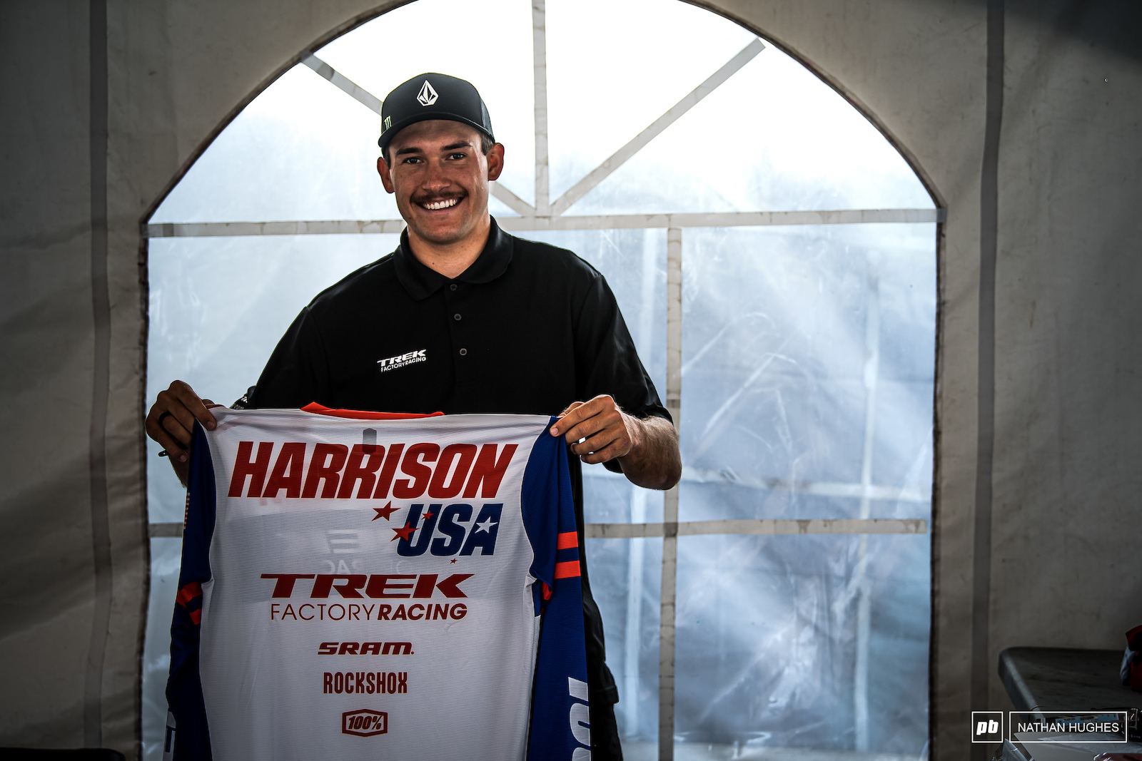 Charlie Harrison ready to go for a stronger than ever before - team USA.