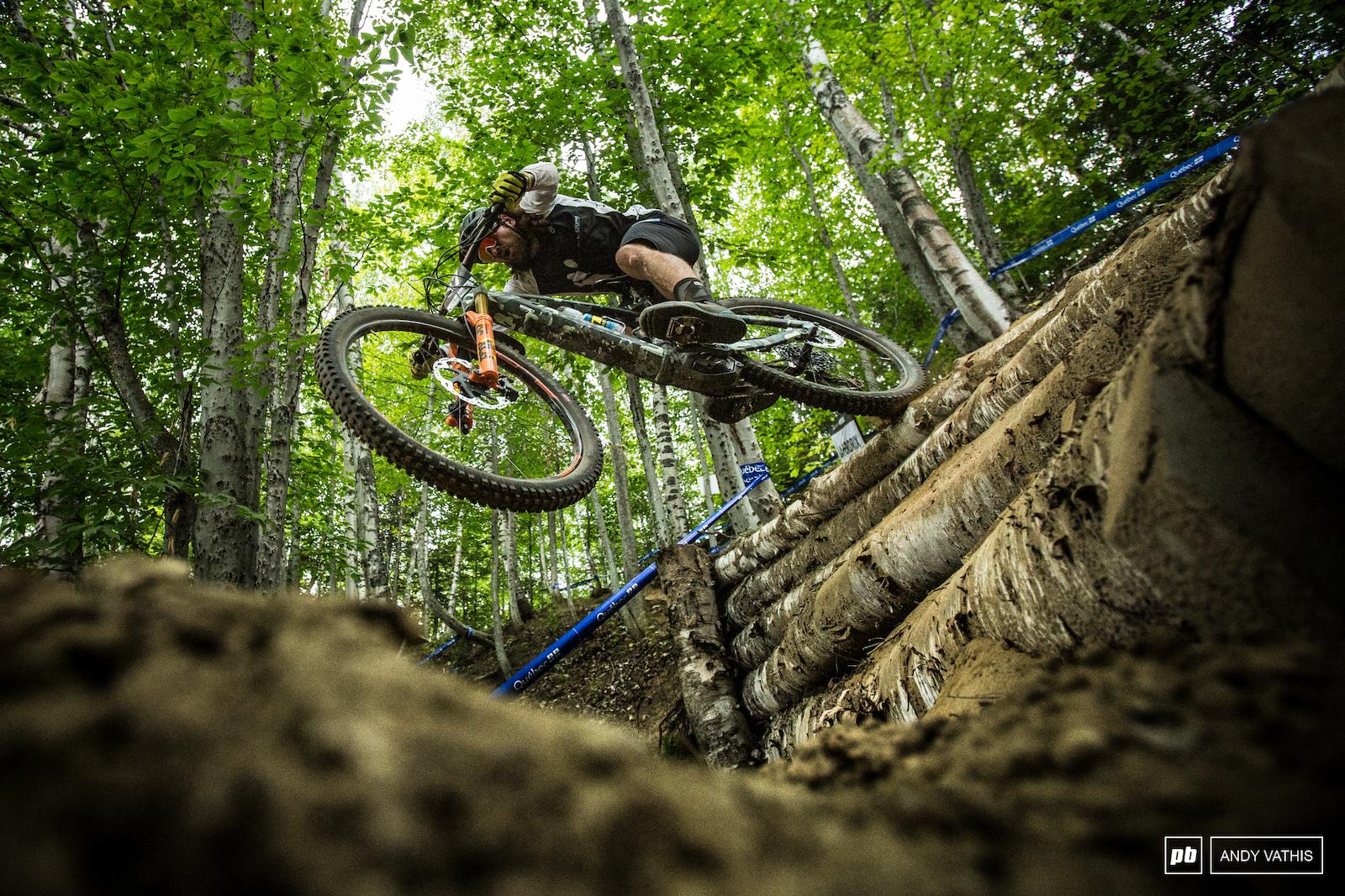 Downhill guy Wyn Masters.