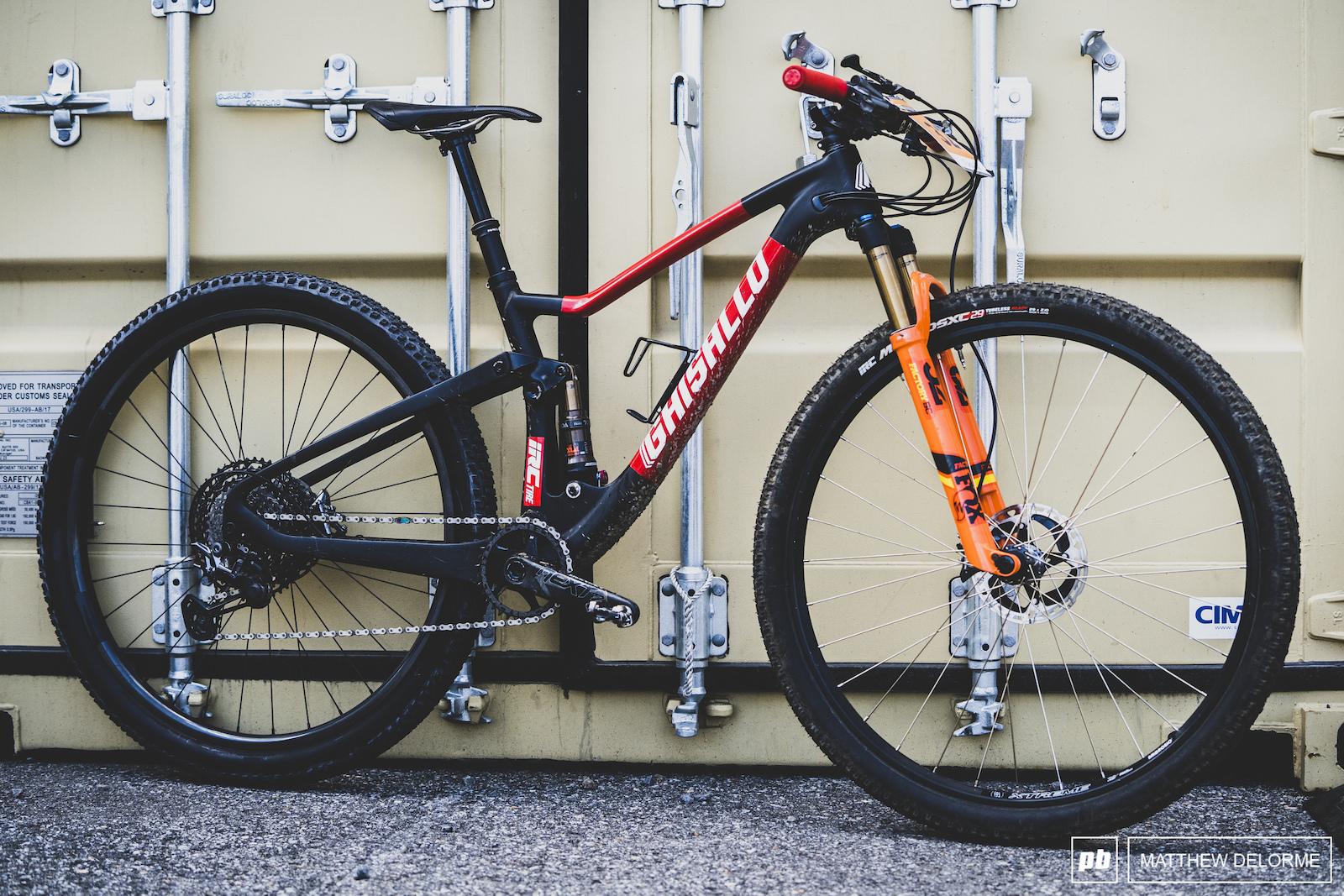 Meet the Ghisallo a Japanese bike that looks a little bit like a Scott Spark.