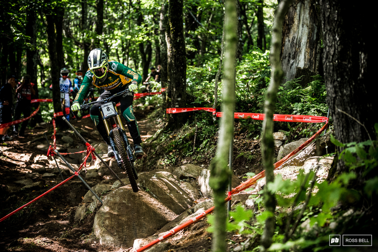World Champs always brings out the best in Greg Minnaar what does the G.O.A.T have up his sleeve in Mont-Sainte-Anne