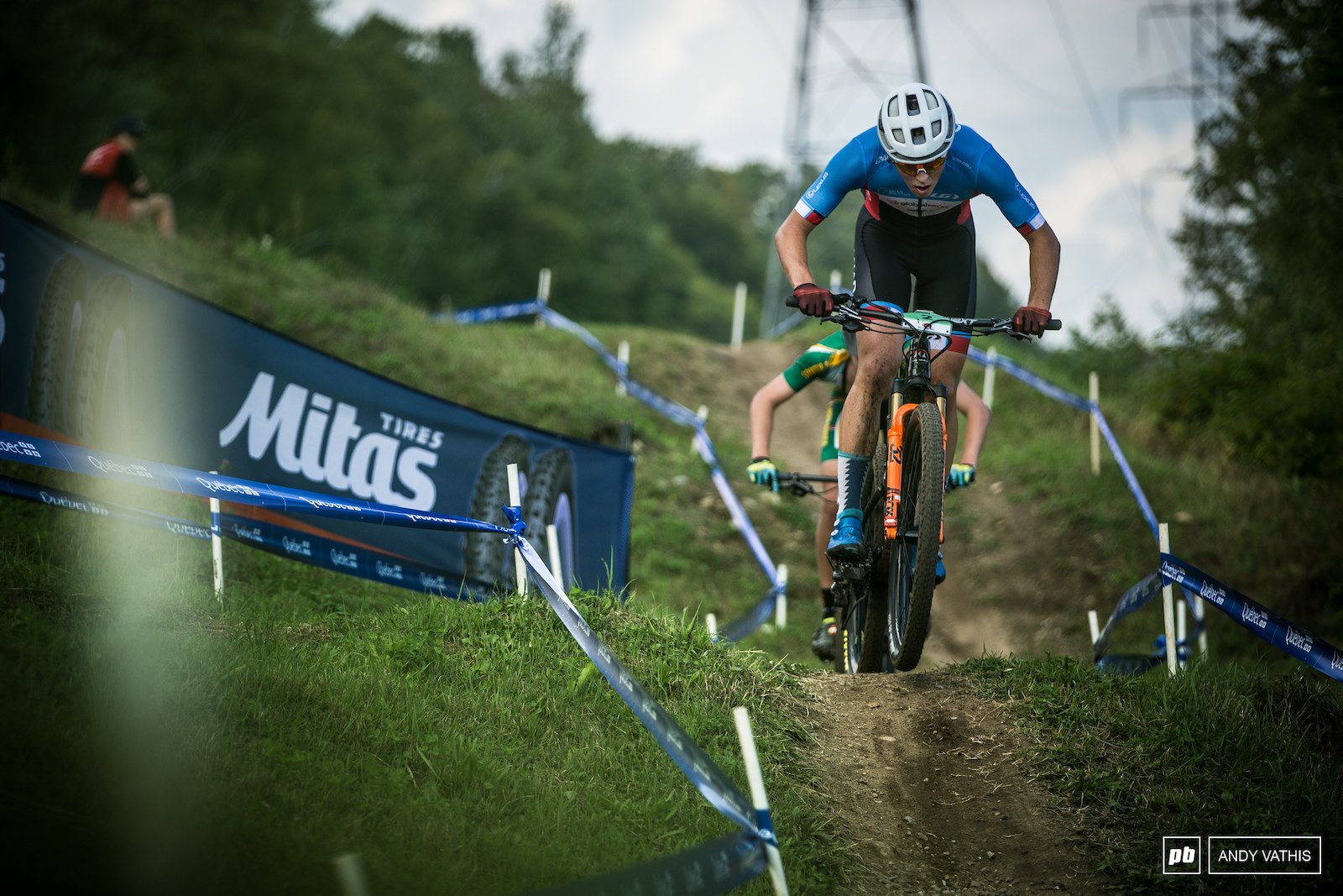 Canadian National Champ Carter Woods started strong but would fall back just missing the podium.