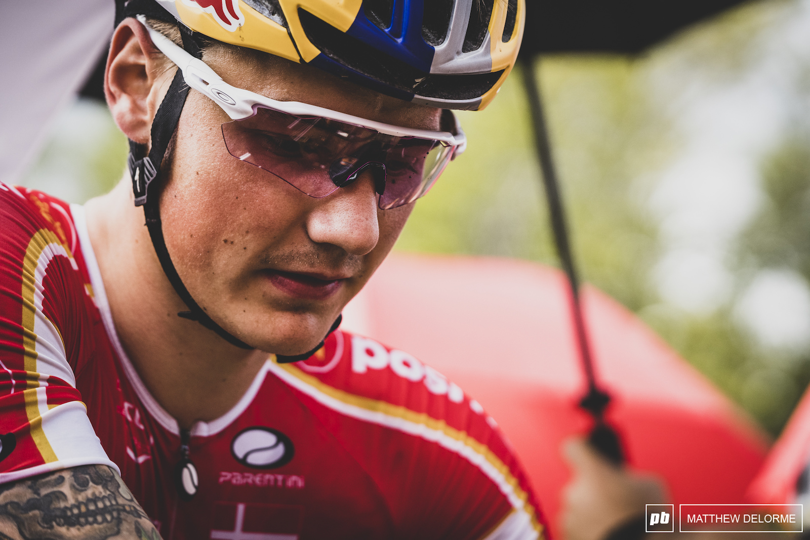 The day would end in heartbreak for Simon Andreassen.
