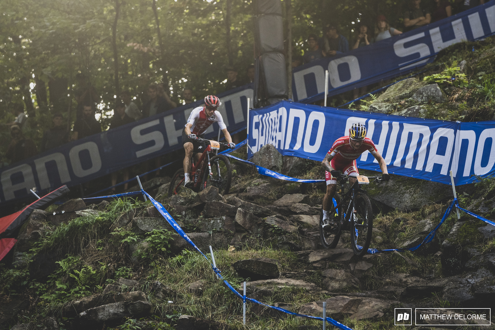 Simon Andreassen had bad luck on the rocks of MSA today and had to settle for seventh.