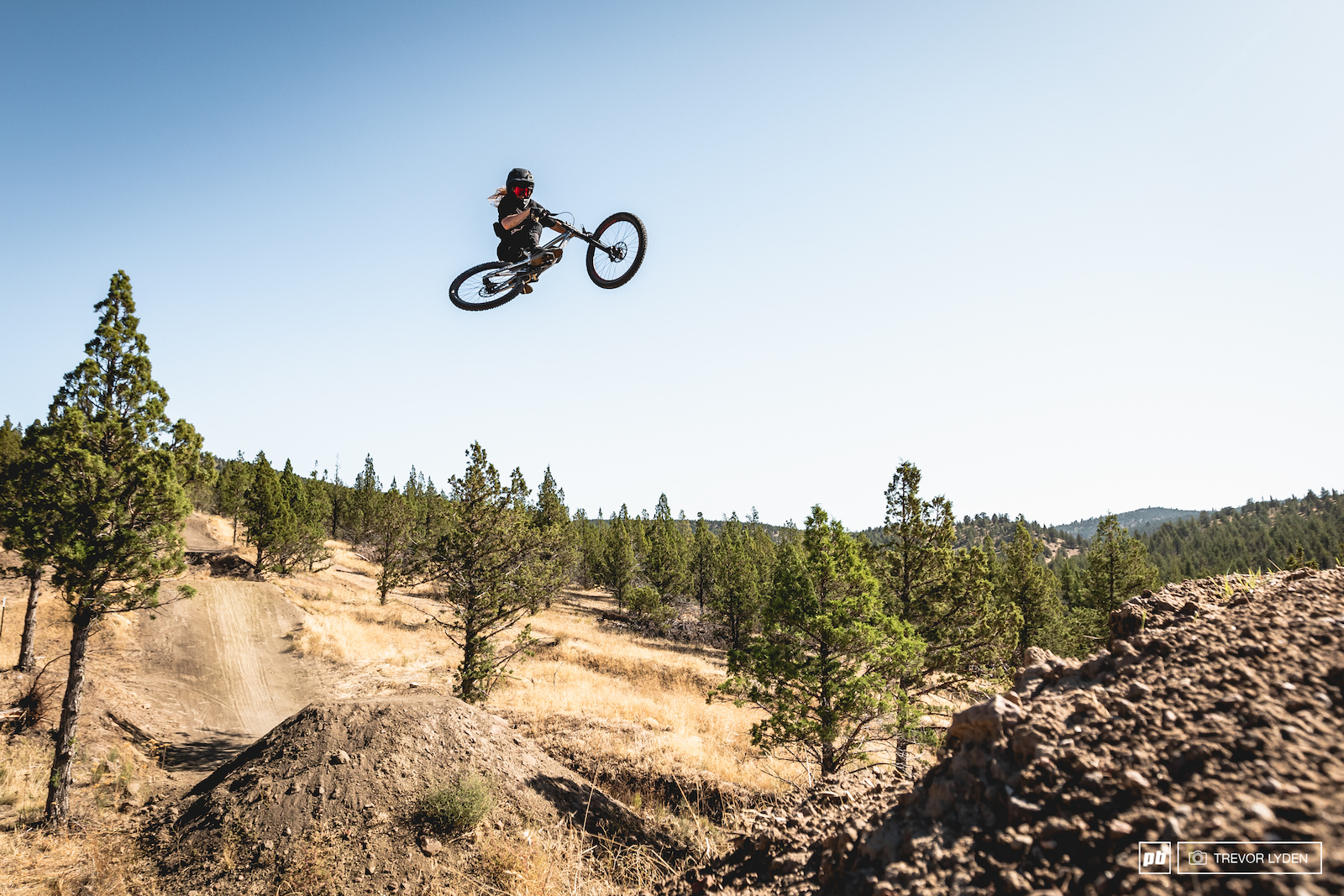 Utah ripper McClayne Empey getting used to the Central Oregon air.