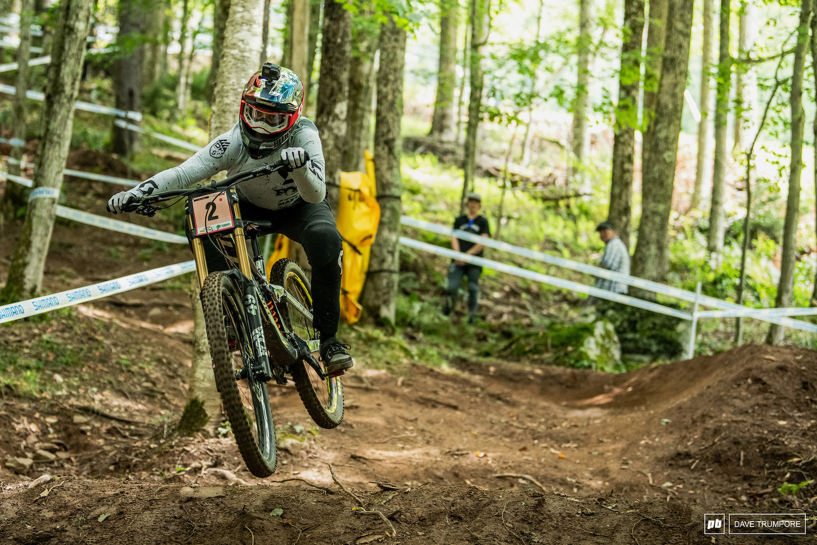 Marine Cabirou ready to battle it out with Tracey Hannah for the overall title