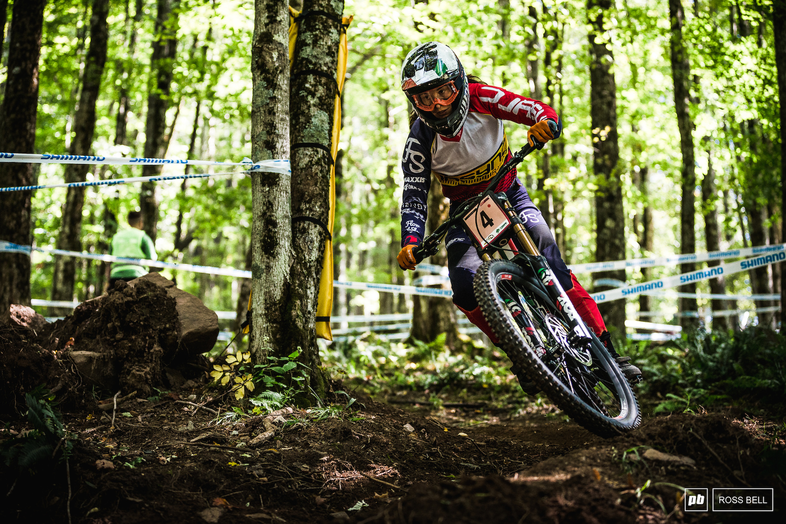 Veronika Widmann with another strong showing in 4th. Another podium would be a good conclusion to her season.
