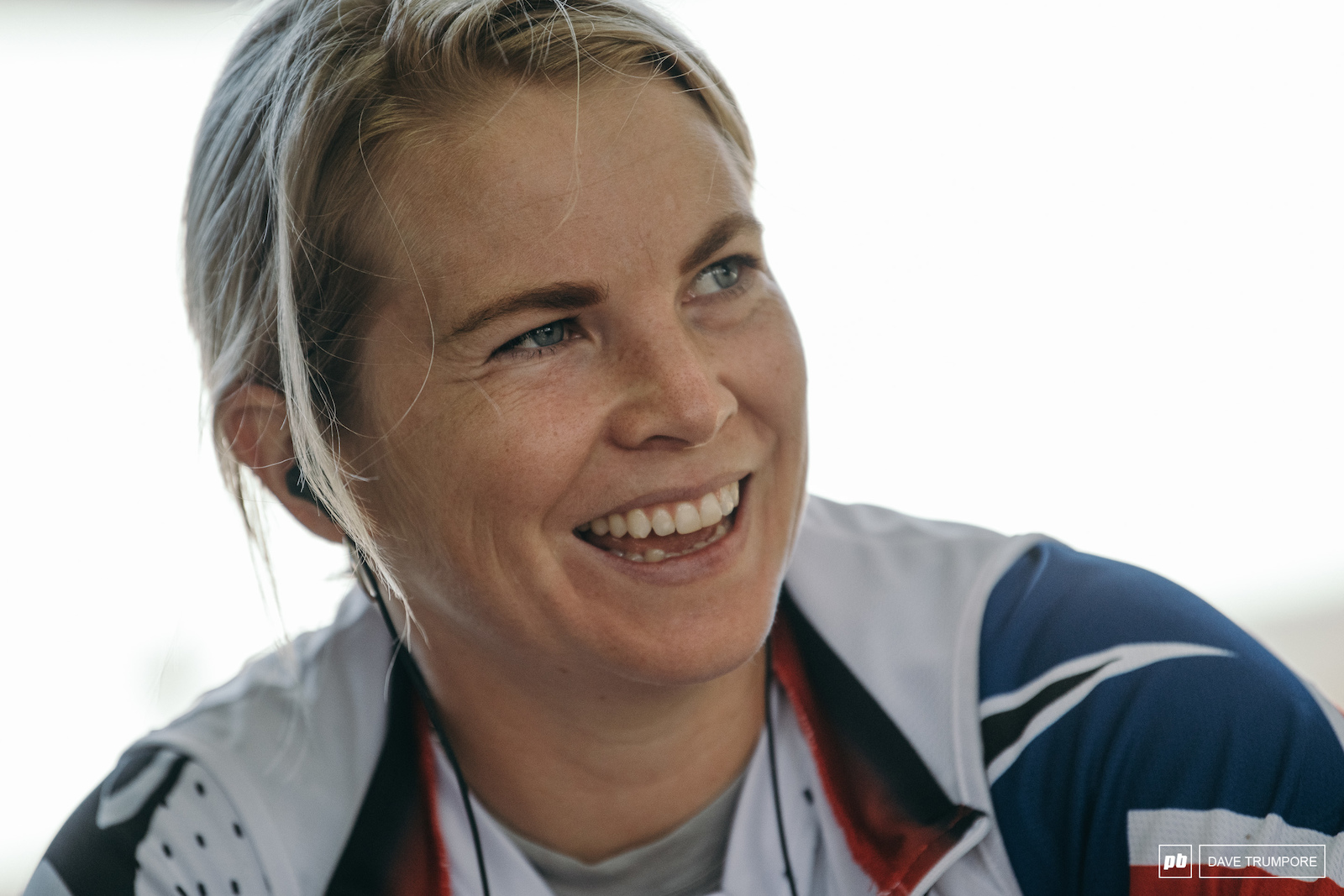 A very happy Tracey Hannah just one run away from a World Cup title