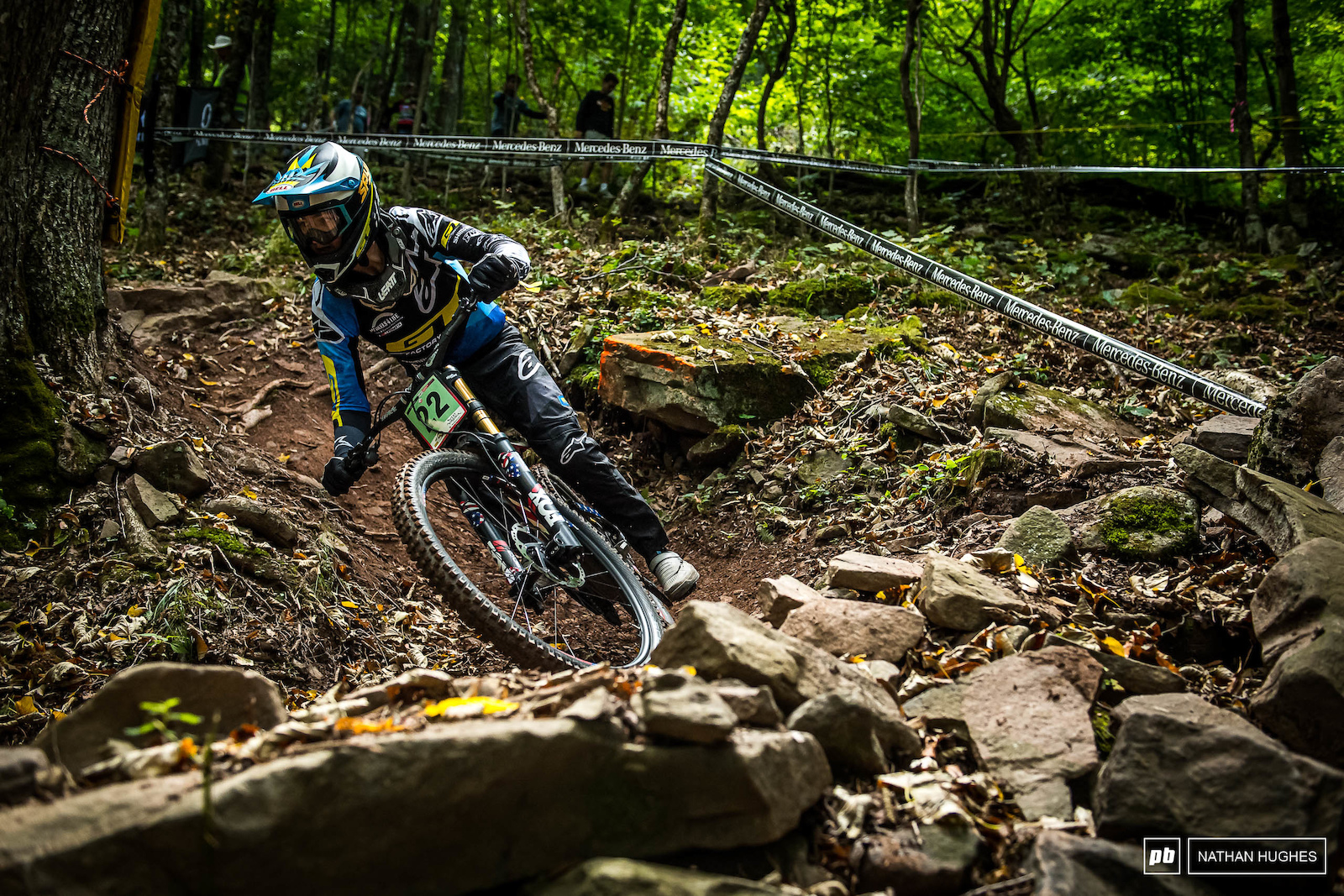 Young American Joseph Foresta has had a mixed season but is onto a good thing here. A top ten today bodes well.