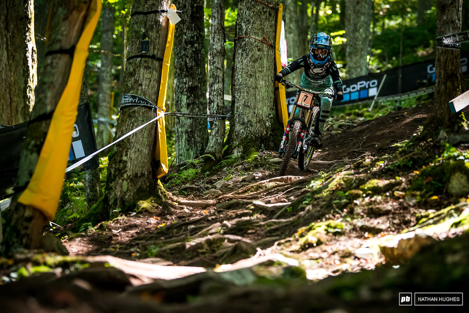 Emilie Siegenthaler has ramped things up after a steady start to 2019 8th today she has a shot at the podium.