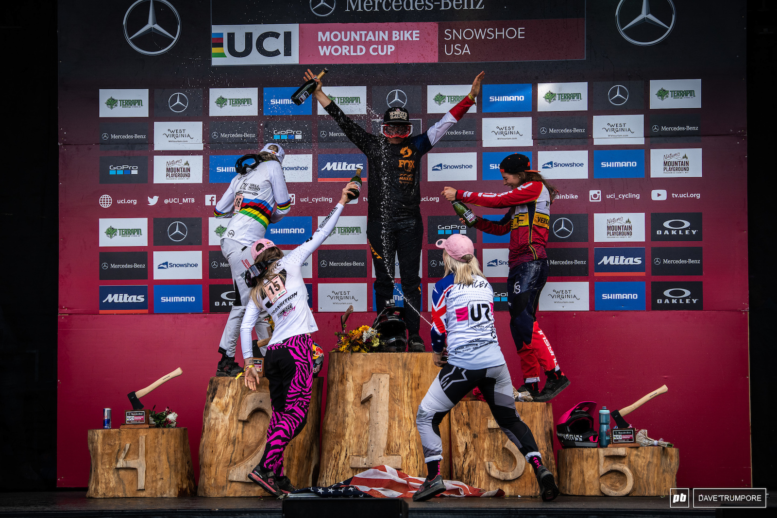 The final podium of 2019 for the Elite Women.