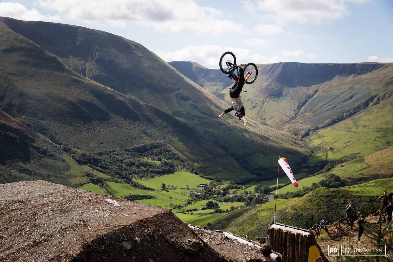 Matt Jones up to his usual tricks - on a DJ bike...