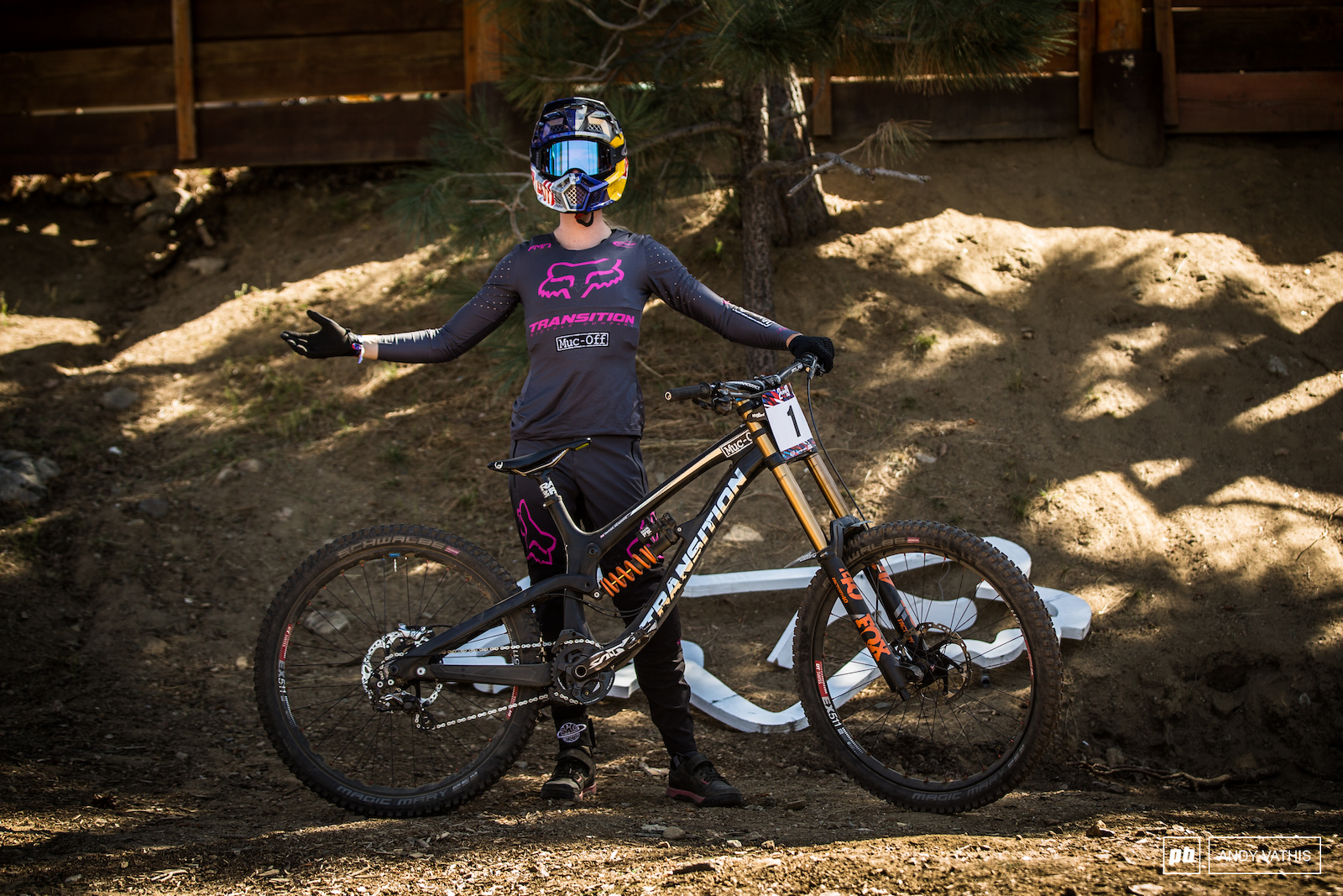 Tahnee Seagrave and her Transition TR11.