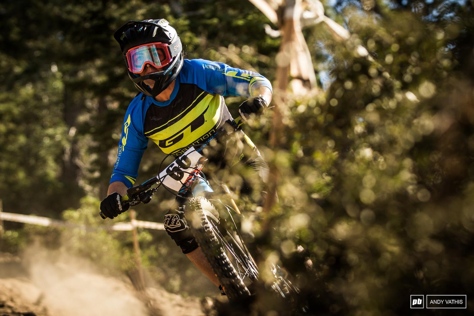 No fear enduro bike for Jennifer Mchugh.