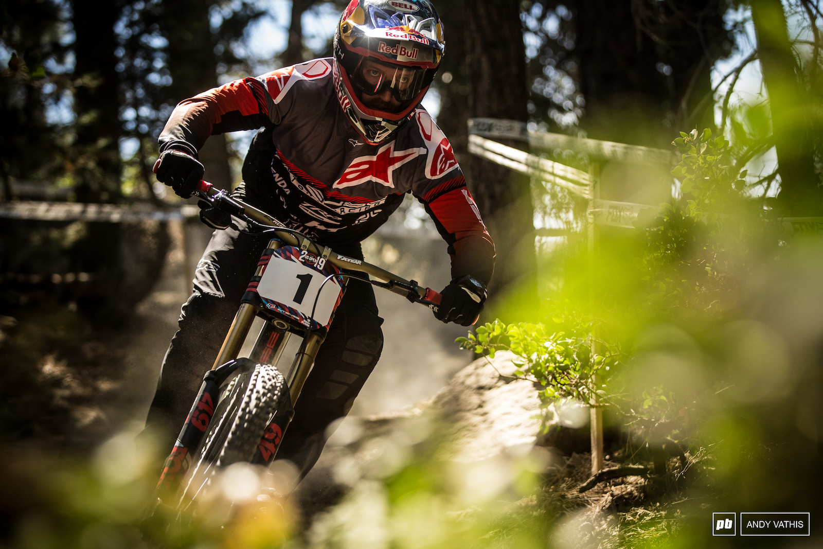 Aaron Gwin is a hungry man. A win here could very well bring confidence into the off season as 2020 rolls in.