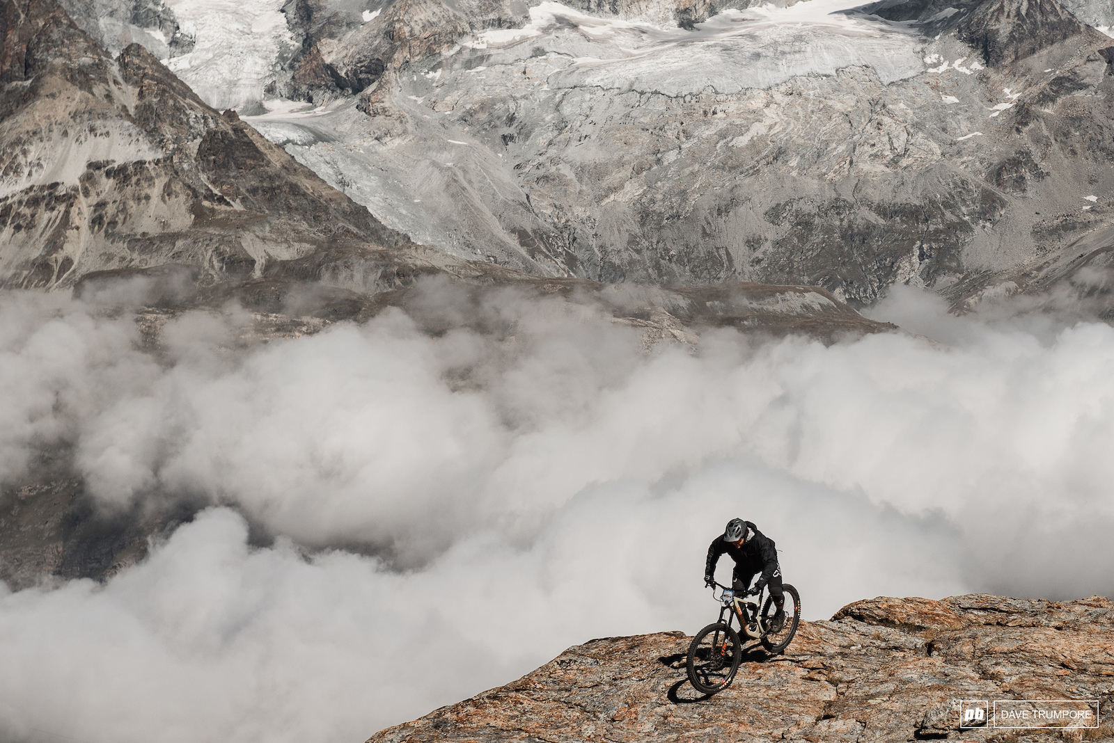 Rocking out above the clouds on stage 3