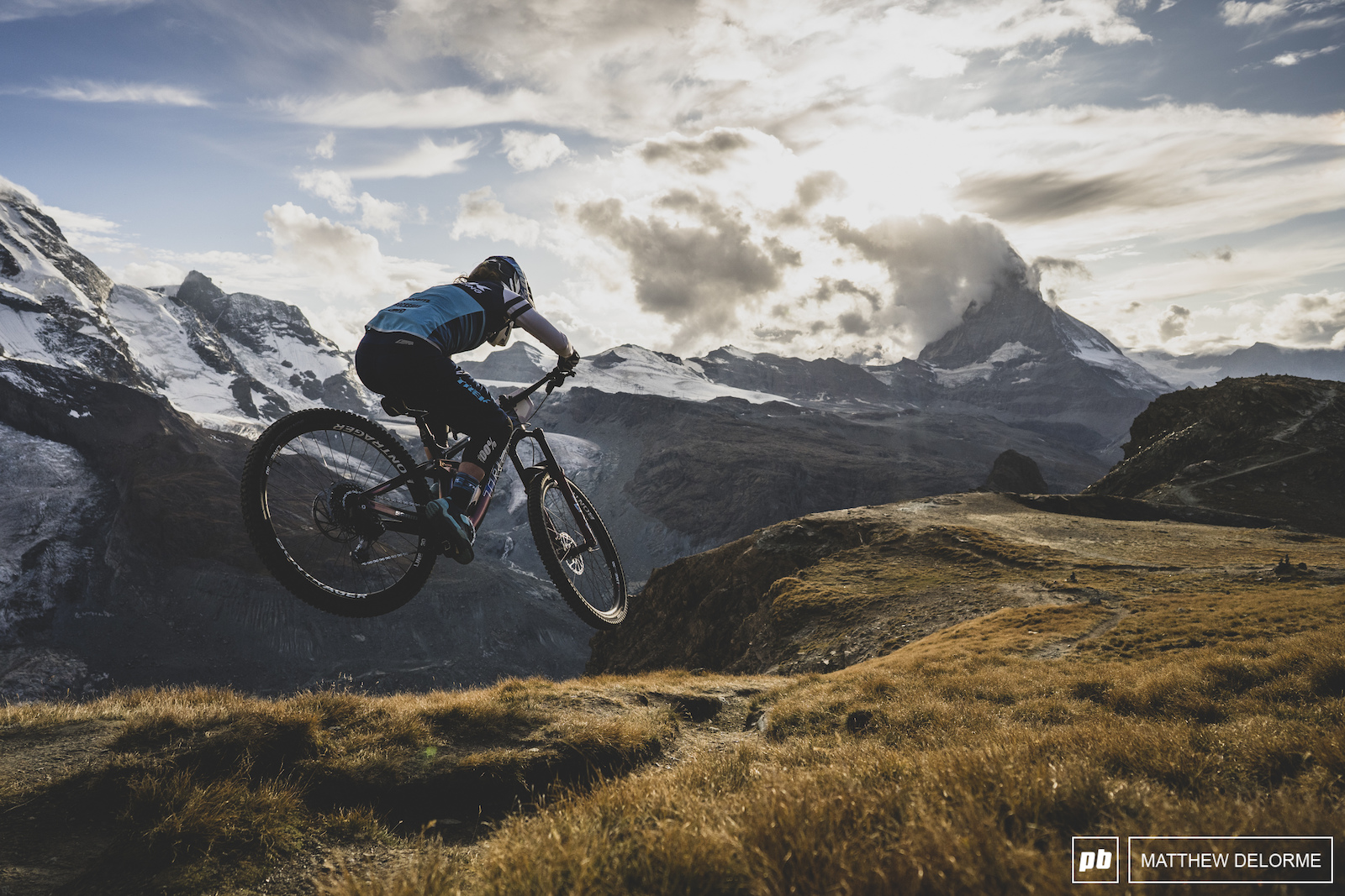 Day Two Photo Epic: Amongst Giants - EWS Zermatt 2019 - Pinkbike