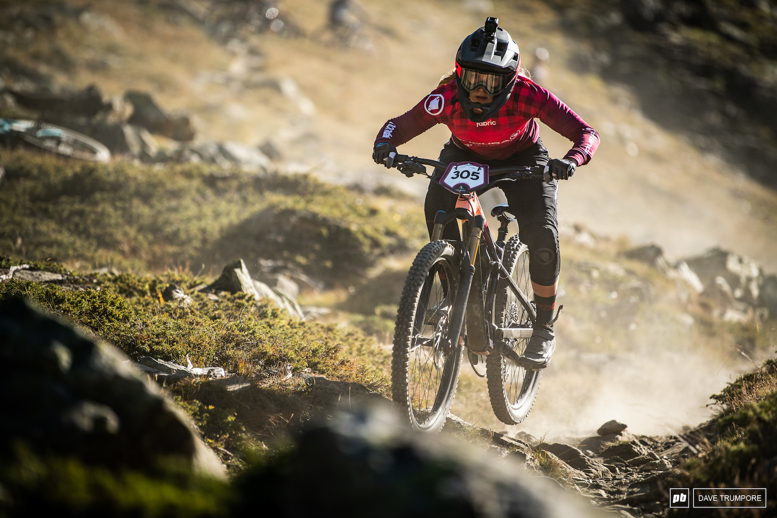 Ella Conolly is racing for the fist time after a broken elbow took her out back in Les Orres