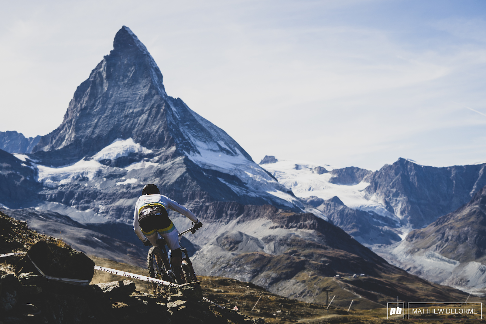 Photo Epic: Race Day - EWS Zermatt 2019 - Pinkbike