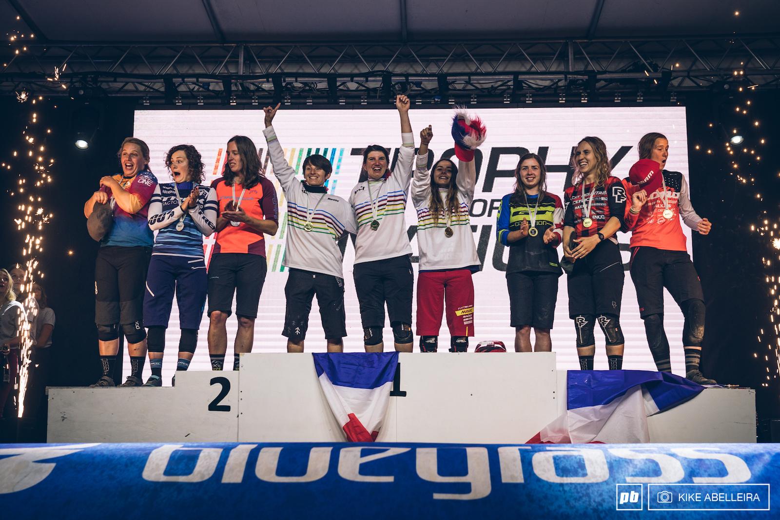 Your TON 2019 women podium.