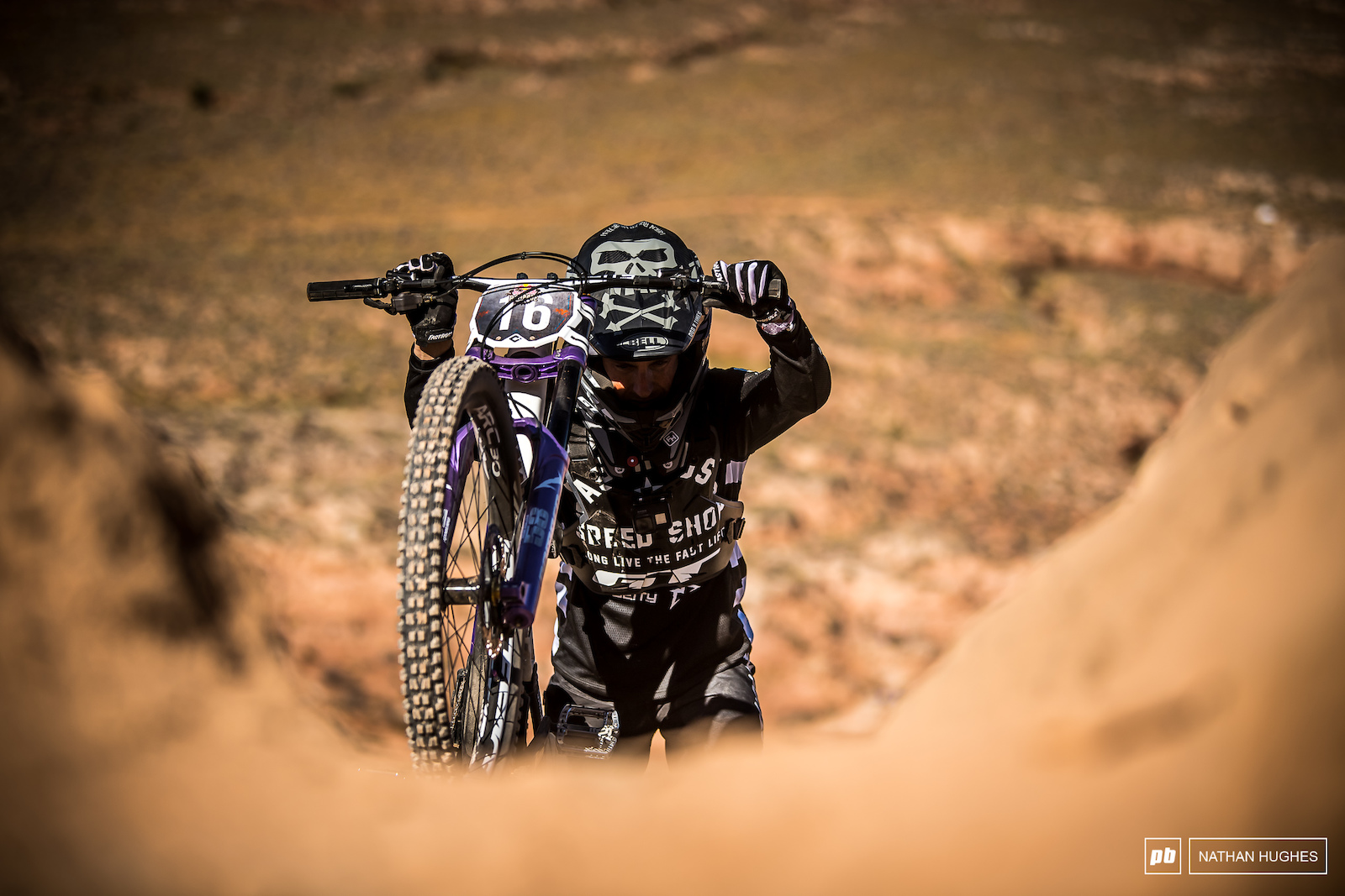 T-Mac always pushes hard at Rampage and this year is no exception for the now Utah resident.