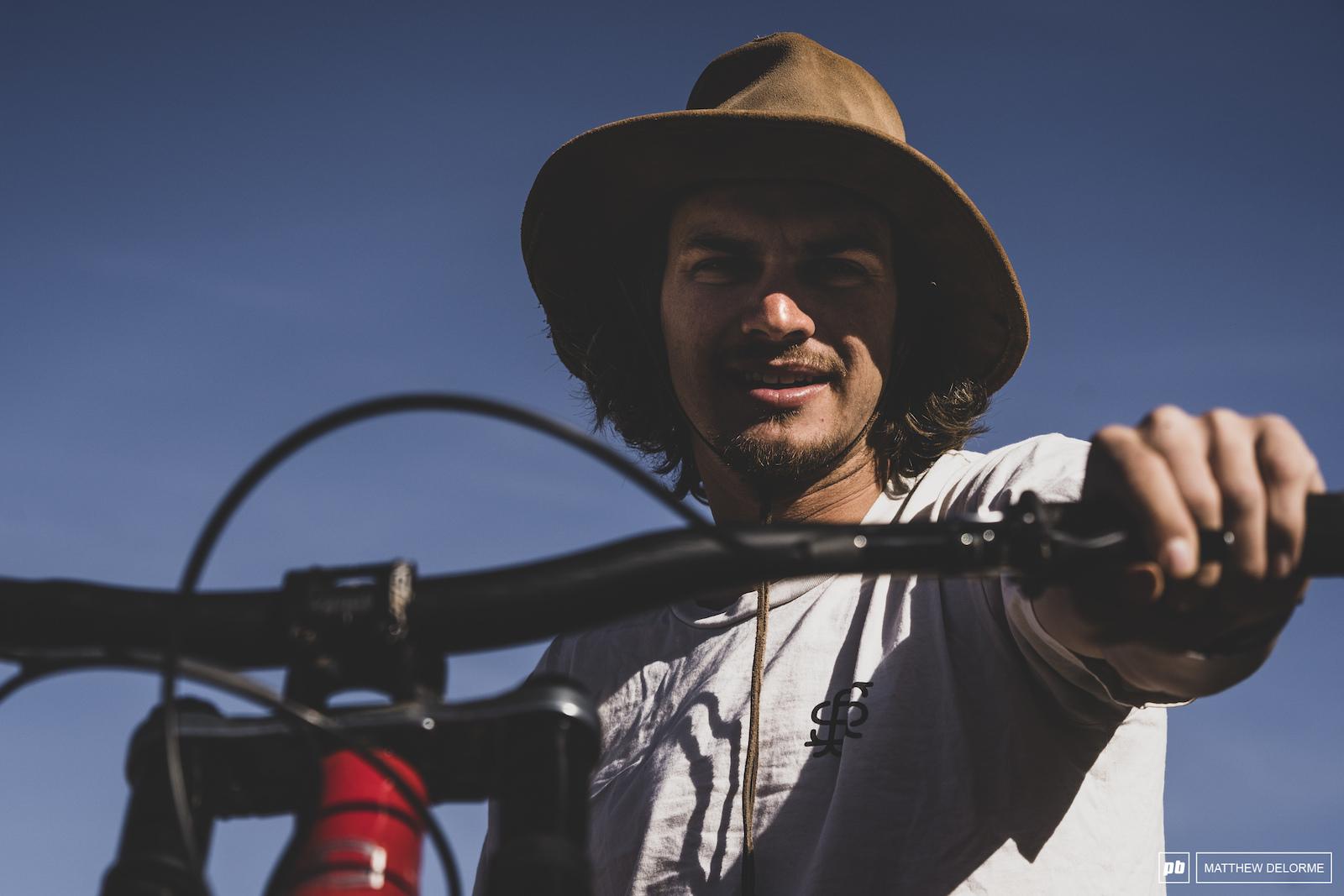 Mitch Ropelatto was on sherpa duty today.