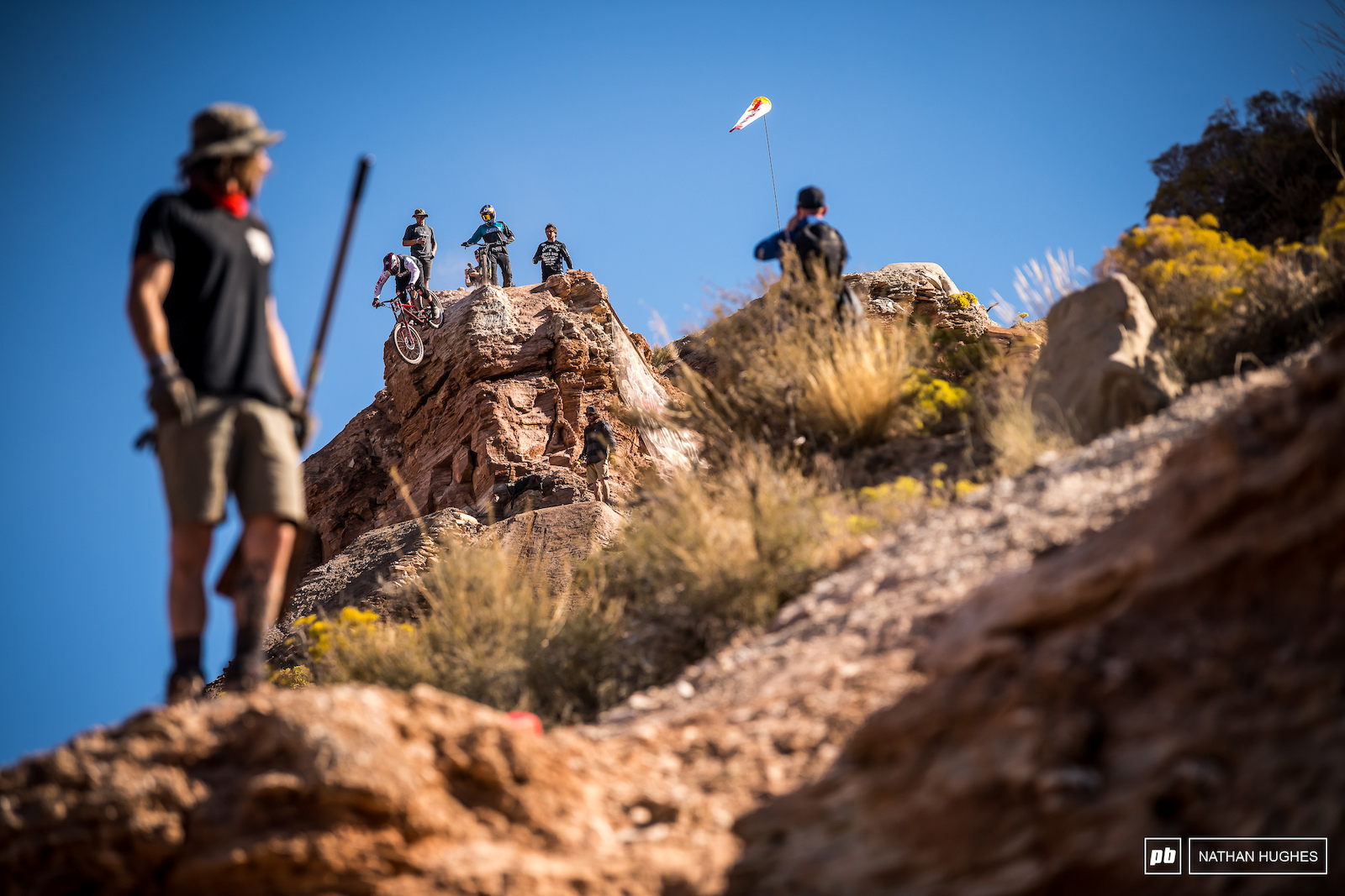Kyle Strait small but mighty looking for Rampage victory number 3 in the morning.