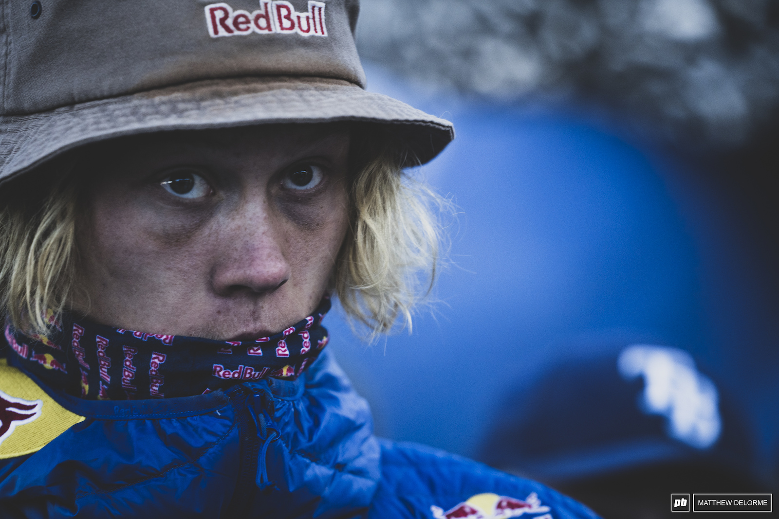 Emil Johansson awaits his first ever Rampage.