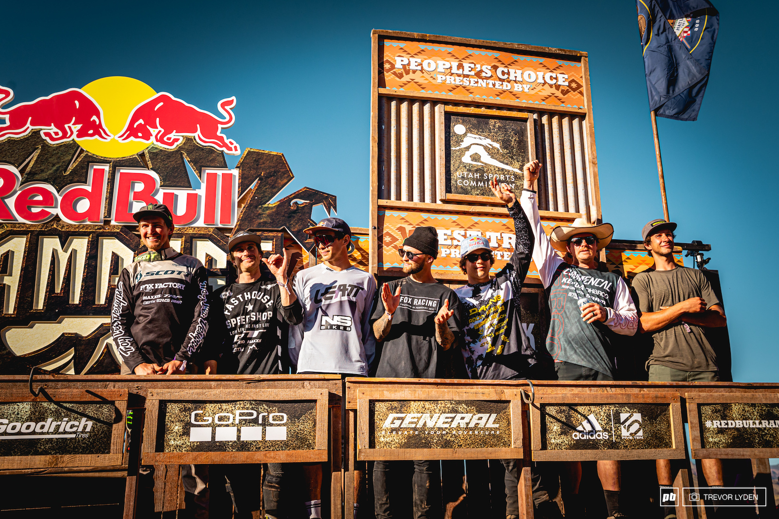 Other than the top three these seven riders are also invited back to compete next year.