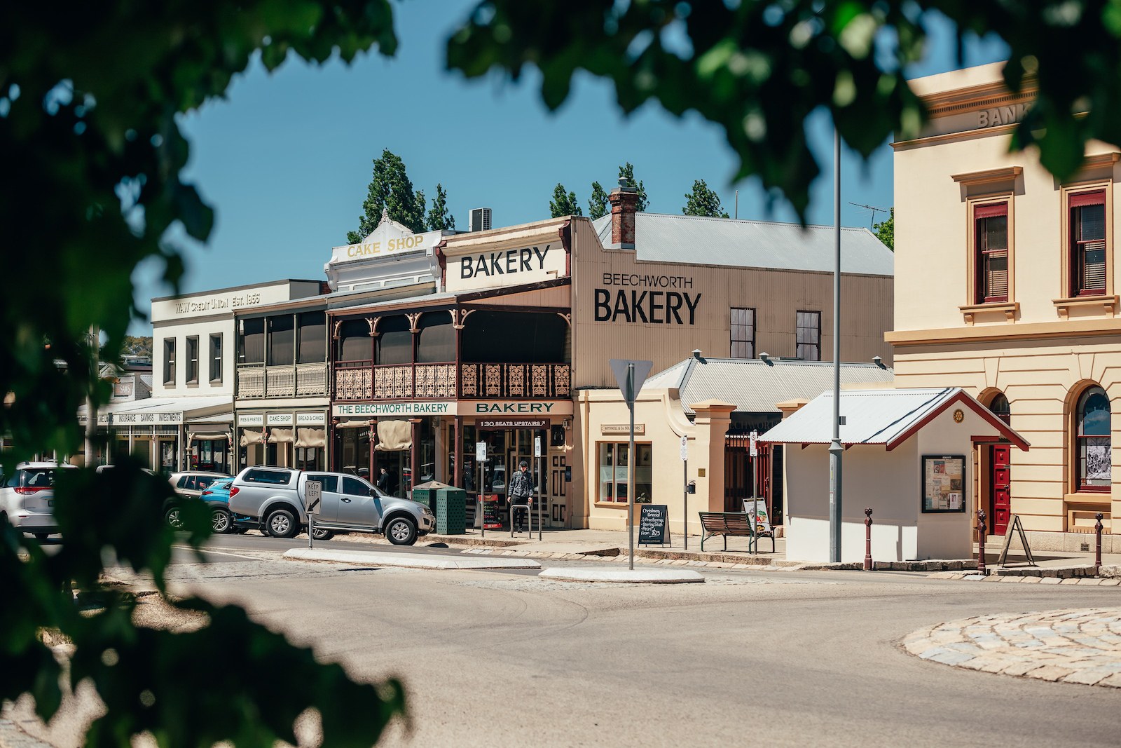 The Iconic Beechworth Bakery they serve a donut called a bee sting it s a must-have.