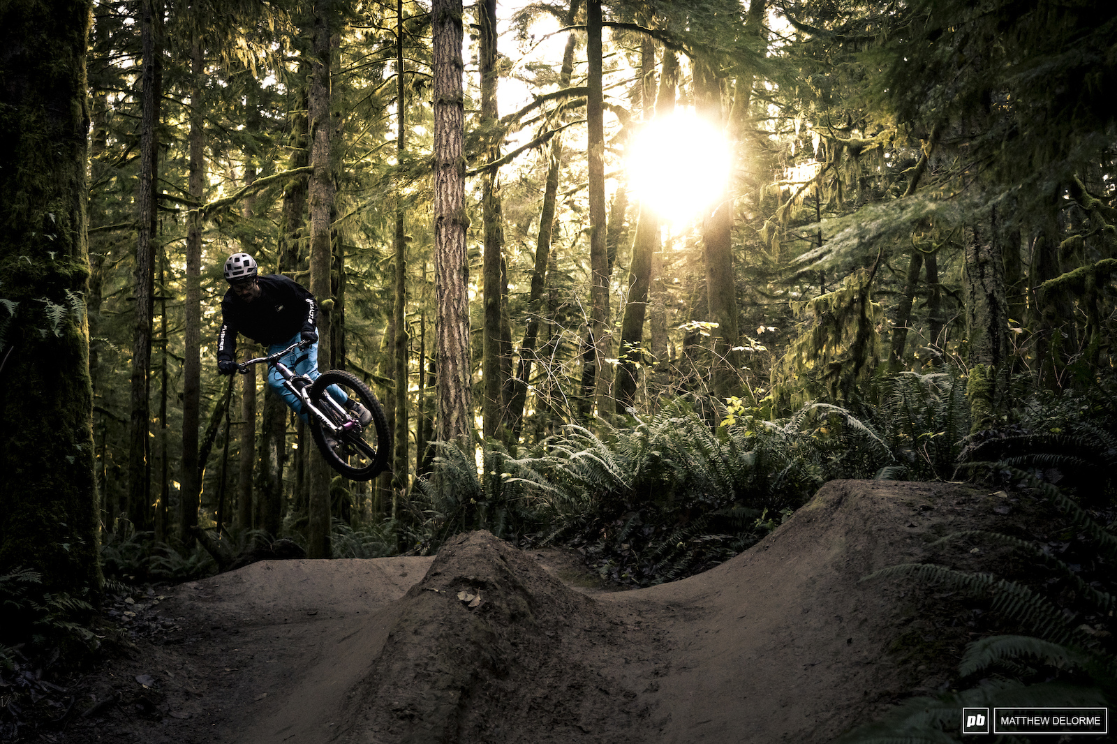 It s been an oddly sunny fall in Seattle and the riding has been superb.