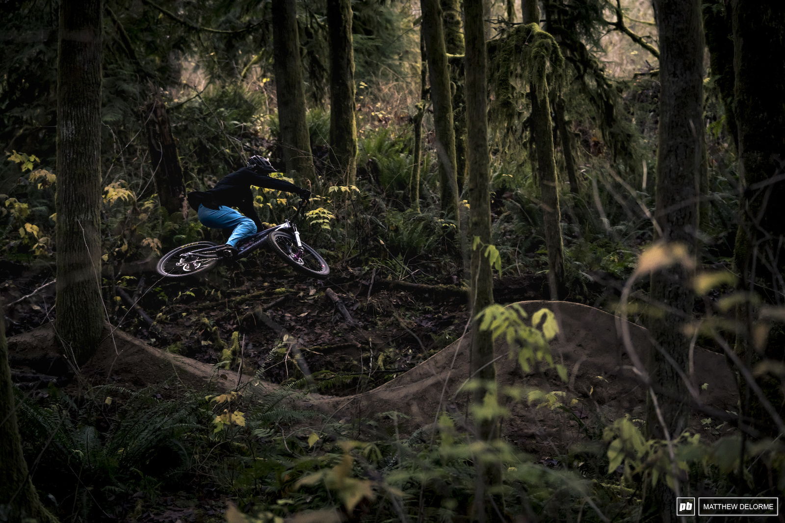 The Fall colors are fading and winter is coming but that doesn t mean riding season is over here int he PNW.
