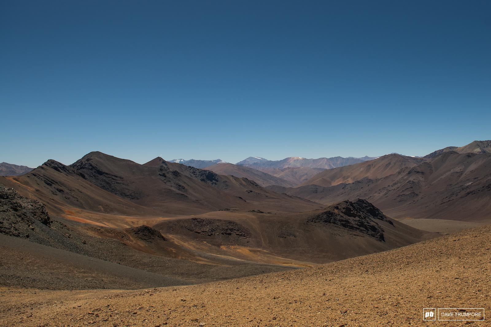 Beautiful views into Argentina