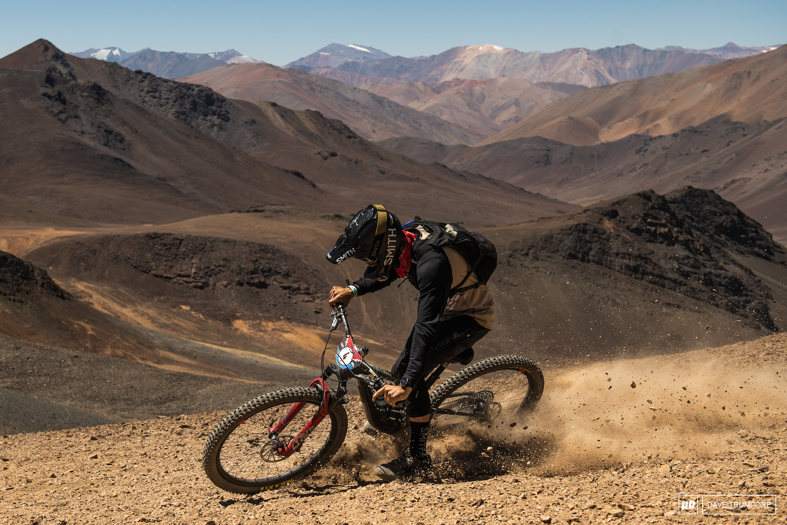 Iago Garay loves the loose surface here in Chile and currently sits 3rd