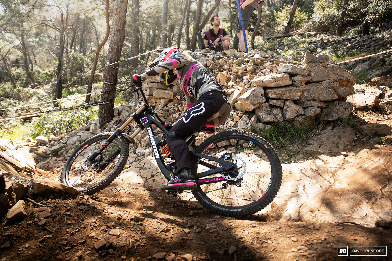 Tahnee Seagrave through some slow and awkward corners